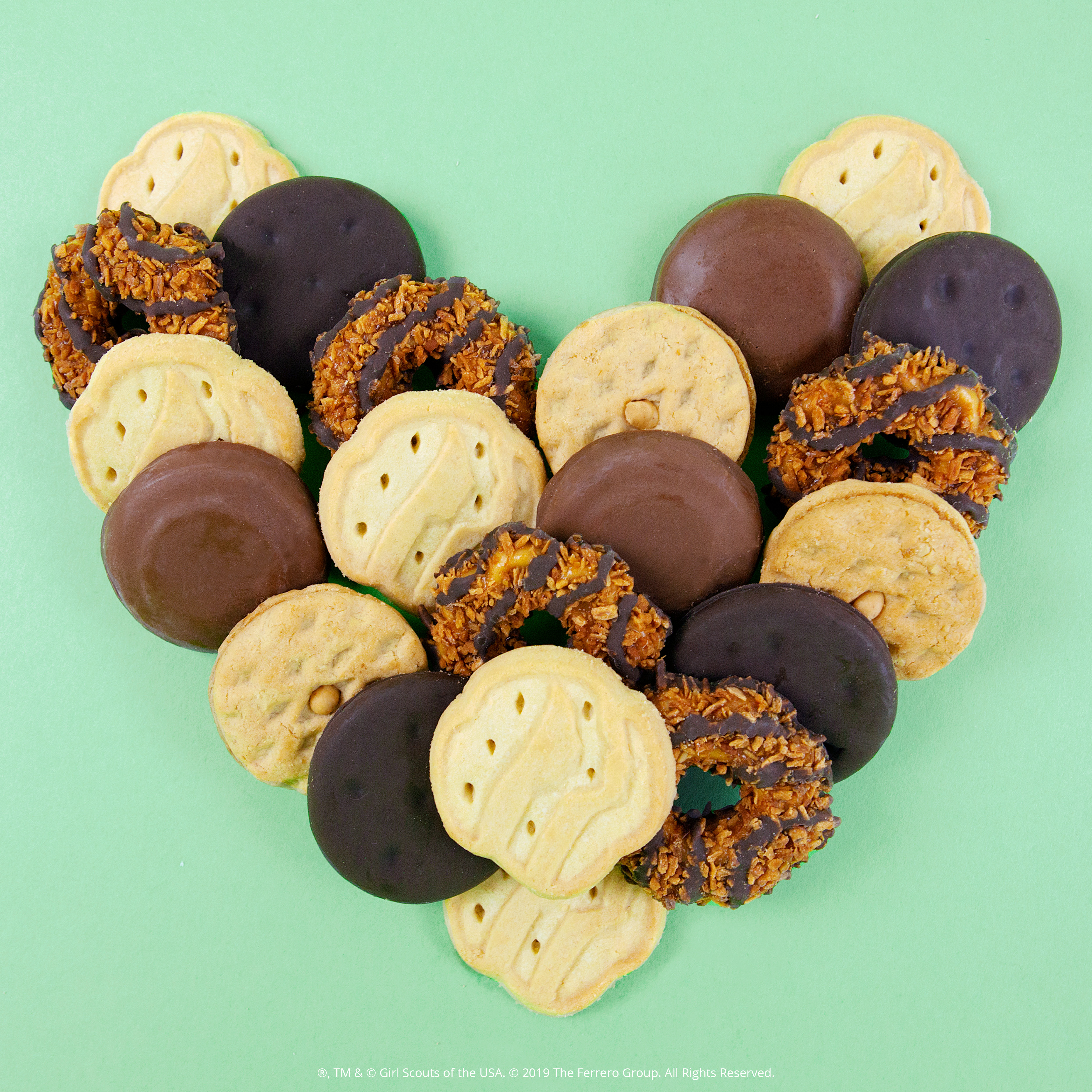 Image result for girl scout cookies